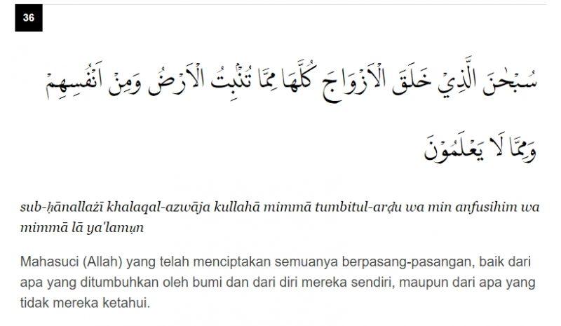 Doa Cari Jodoh Amalkan Surah Yasin Ayat 36 Kashoorga