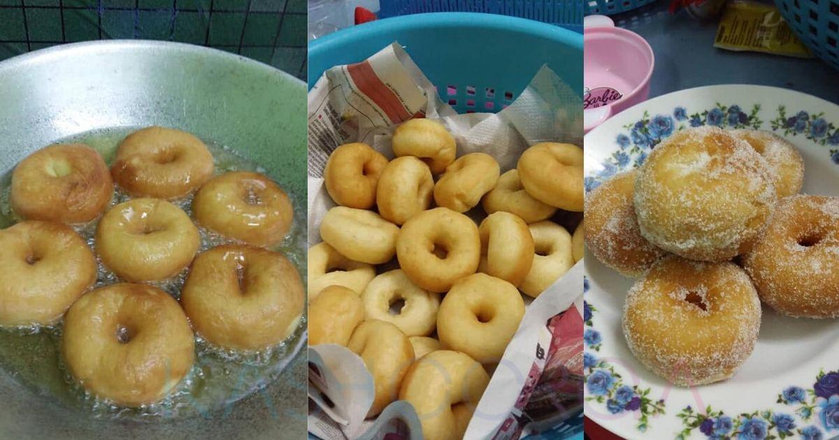 Resipi Buat Donut Gebu Tanpa Uli Caranya Mudah Saja Sedap Makan Panas Panas Lebih Boleh Disimpan Frozen Kashoorga