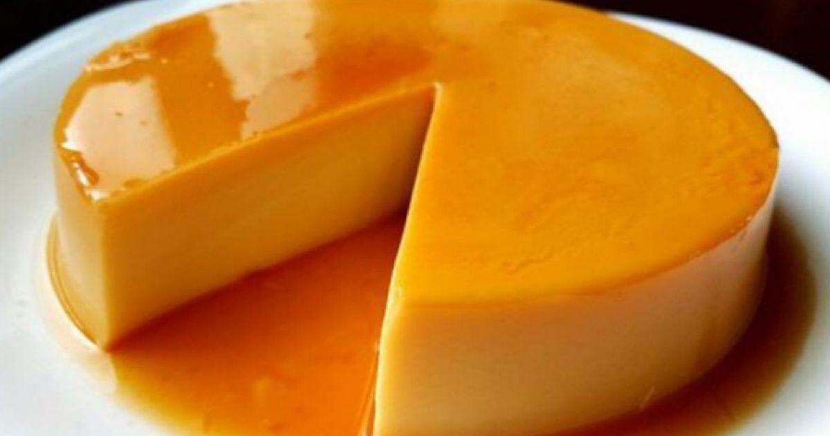 Puding Karamel Tanpa Telur Yang Sedap Licin Tak Berlubang Masak Lima Minit Terus Siap Kashoorga